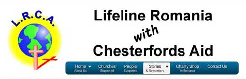 Lifeline Romania with Chesterfords Aid